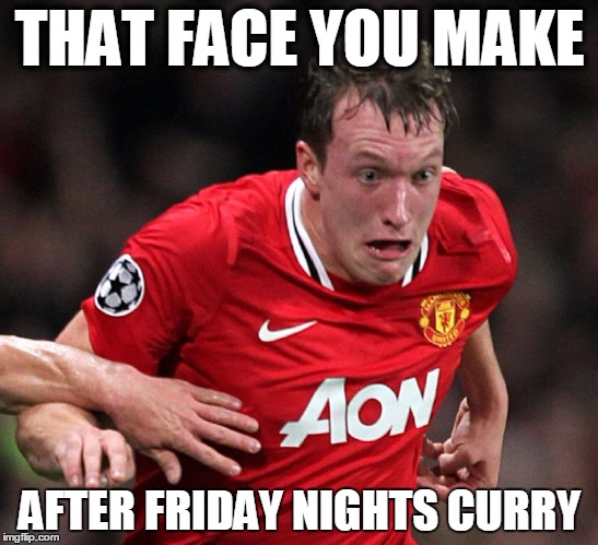 phil jones face you make meme curry