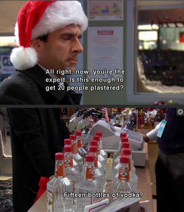 office xmas michael scott