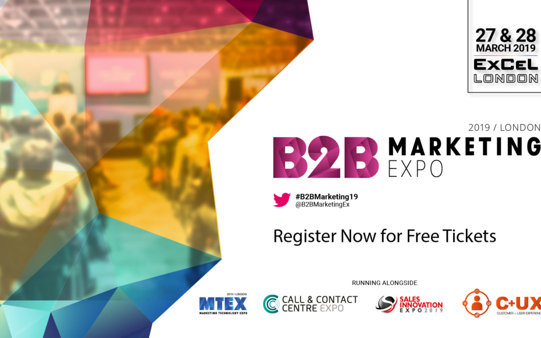What's on at the B2B Marketing Expo?