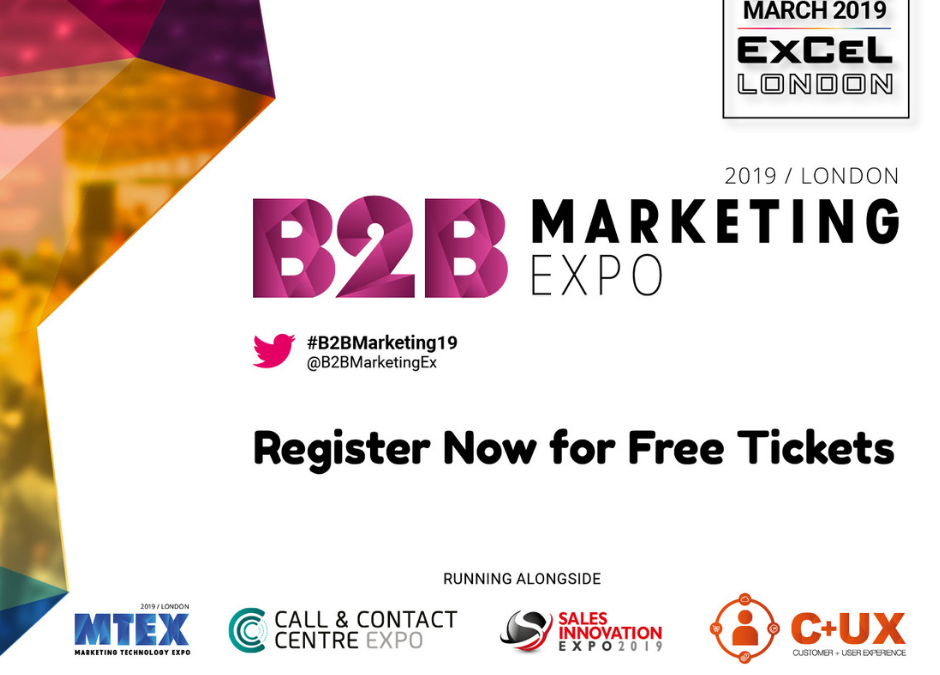 Official partner of the B2B Marketing Expo